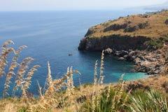 italy reserva Sicily zingaro Zdjęcia Royalty Free