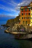 Italy riomaggiore Stock Photo