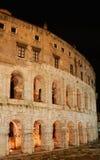Italy. Roma. Colosseo (Coliseum) at night. Royalty Free Stock Photo