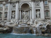 Italy Roma Fontana di Trevi - Creative Commons by gnuckx Royalty Free Stock Images