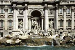 Italy, Roma, Trevi fountain Royalty Free Stock Photography