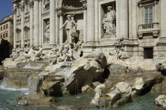 Italy, Roma, Trevi fountain Royalty Free Stock Photo