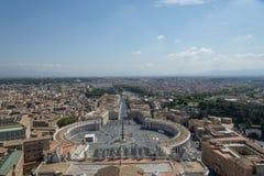 Italy roma Vista panorâmico da cidade Fotos de Stock Royalty Free