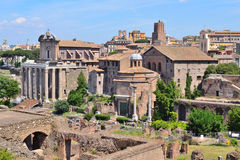 Italy. Roman Forum Royalty Free Stock Photography
