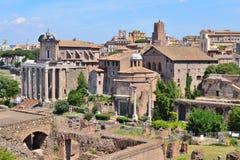 Italy. Roman Forum Royalty Free Stock Photography