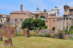 Italy. Roman Forum Royalty Free Stock Image