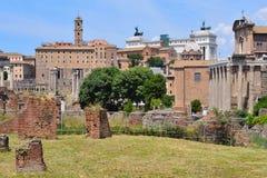 Italy. Roman Forum Royalty Free Stock Image
