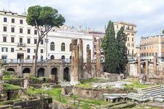 italy roman rome fördärvar arkivbild