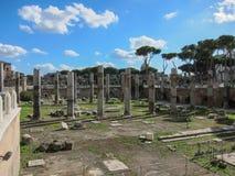 italy roman rome fördärvar royaltyfri bild