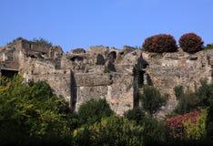 Italy, Roman ruins of Pompeii near Naples Royalty Free Stock Photos