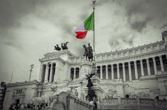 Italy,Rome, Altare della Patria(Altar of the Fatherland) Royalty Free Stock Photo