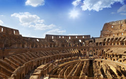 Italy. Rome. The ancient Collosseo Royalty Free Stock Image
