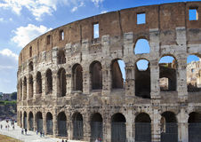 Italy. Rome. The ancient Collosseo Royalty Free Stock Photography