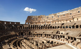 Italy. Rome. The ancient Collosseo Royalty Free Stock Photo