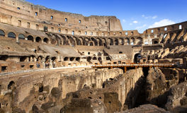 Italy. Rome. The ancient Collosseo Stock Images