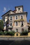 italy rome Blött hotell (59 via Santa Croce i Gerusalemme) Royaltyfri Fotografi