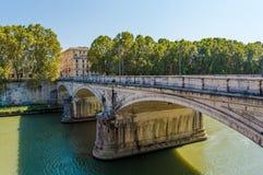 Italy, Rome bridge royalty free stock photography