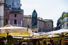 Italy, Rome, Campo dei Fiori square, market day royalty free stock photos
