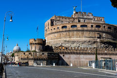 Italy, rome, castel sant'angelo Stock Images