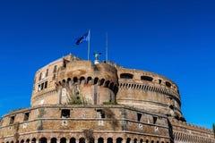 Italy, rome, castel sant angelo Stock Image
