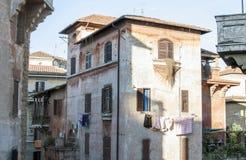 Italy, Rome, Garbatella Royalty Free Stock Photography