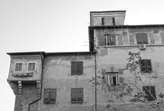 Italy, Rome, Garbatella Royalty Free Stock Photo