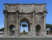 Italy, Rome: Konstantin arc Royalty Free Stock Photography