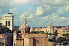 Italy. Rome, Italy - November 2016: panorama of the historical city royalty free stock photos