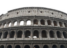 Italy, Rome. A panorama of collisions Royalty Free Stock Photos