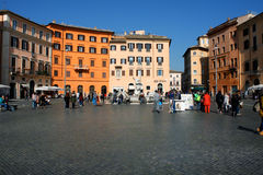 Italy, Rome Piazza Navona, the fountain Stock Image