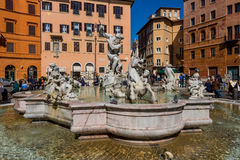 Italy, rome, piazza navona Stock Photo