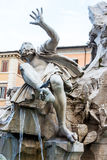 Italy, rome, piazza navona Stock Images