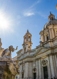 Italy, rome, piazza navona Stock Photography