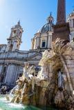 Italy, rome, piazza navona Stock Photos