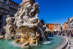 Italy, rome, piazza navona Stock Photo