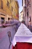 italy rome platsgata Royaltyfri Fotografi