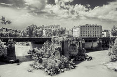 Italy,Rome, Ponte Rotto Bridge N2 Stock Photography