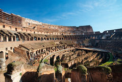 Italy. Rome ( Roma ). Colosseo (Coliseum). Inside view Stock Images