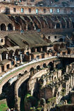 Italy. Rome ( Roma ). Colosseo (Coliseum). Inside view. Fragment Royalty Free Stock Photos