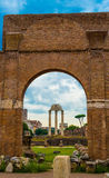 Italy, Rome, Roman Forum royalty free stock photos