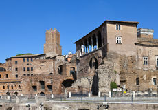 Italy. Rome. ruins of a forum of Trajan Royalty Free Stock Image