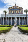 Italy, rome, san paolo fuori le mura Royalty Free Stock Image