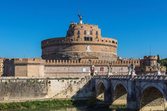 ITALY, ROME - SEPTEMBER 17, 2012: Castel Sant Angelo also known stock images