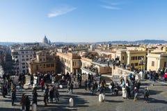 italy rome sikt Arkivbilder