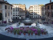 italy Rome spanish kroki fotografia royalty free