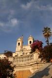italy Rome spanish kroki zdjęcia stock