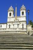 italy Rome spanish kroki zdjęcie stock