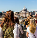 Italy, rome, st. peter's basilica Stock Photo
