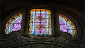 Italy,Rome, St Peter's basilica,stained glass window Stock Images