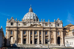 Italy, rome, st. peters basilica Royalty Free Stock Photos